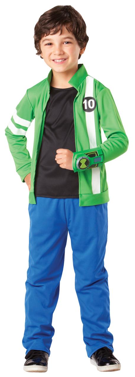 2176003aa79 Ben 10 Action Hero Boys Costume For School