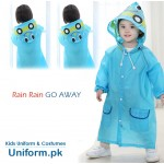 Kids Funny Rain Coat For School