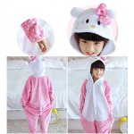 Cat Animal Jumpsuit Costume for Kids School Play