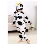 Cow Dairy Animal Jumpsuit Costume for Kids School Play