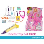 Doctor Costume for Kids with Lab coat and Medical Kit
