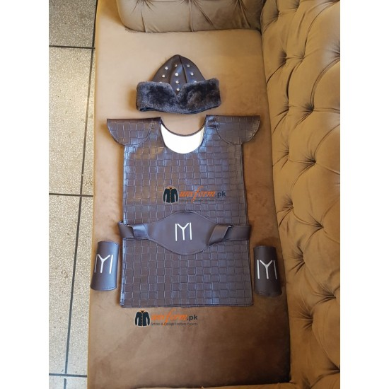 2 Pcs Set Ertugrul Kit Including Hat And Dress