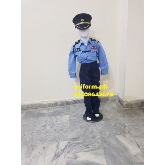 Pakistan Air Force Uniform for Kids Pakistan Air Force Costume For Kids