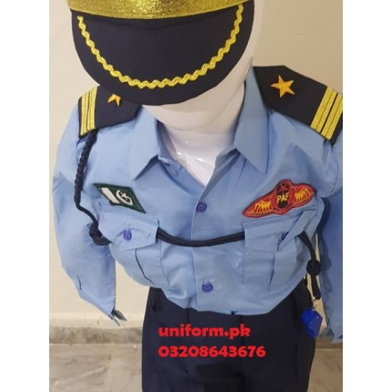 Pakistan Air Force Uniform for Kids Pakistan Air Force Costume For Kids