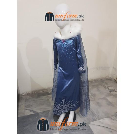 Frozen 2 Dress Princess Elsa Costume Buy Disney Frozen Elsa Isnpired Girls Ice Queen Costume Dress Online In Pakistan Frozen II - Princess Elsa Costume