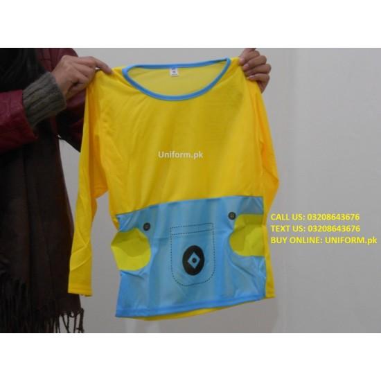 Minions Bob Kids Jumpsuit Costume Dress For School