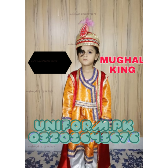 Mughal King Costume For Kids Buy Online In Pakistan
