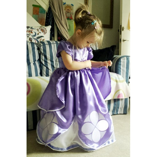 Sofia Cartoon Character Costume The First Outfits For Sale