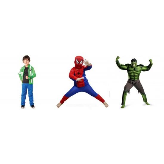 Spiderman, Ben Ten, Halk 3 in 1 Deal