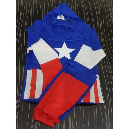 Captain America Costume For Kids
