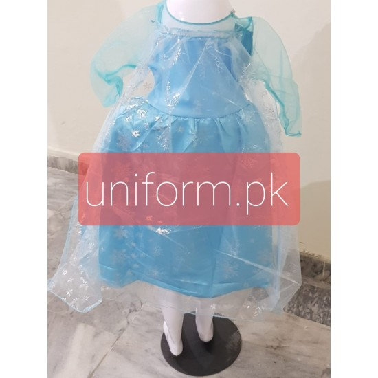 Frozen Costume Girls Dress For School