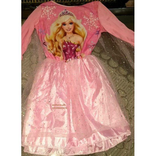 Barbie Costume For Kids School Girls