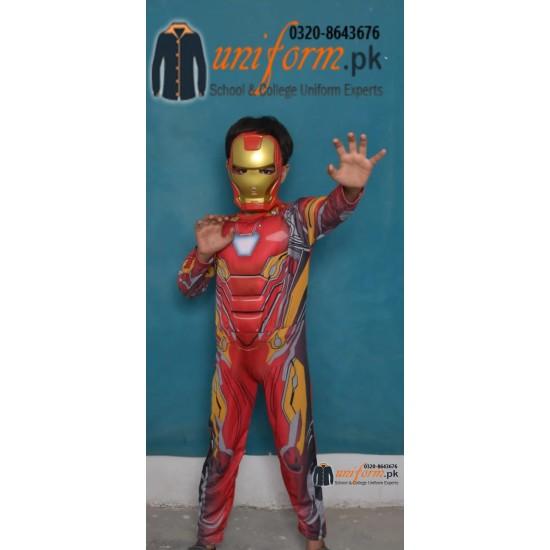 Iron man Costume For Kids In Pakistan Buy Iron Man Muscle Costume with Mask Online In Pakistan
