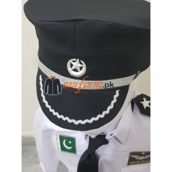 Pakistan Civil Pilot Uniform For Kids Buy Online Pilot Costume For Kids