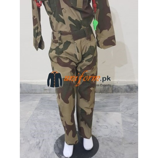 Pakistan SSG Commando Uniform For Kids Army Commando Kids Costume