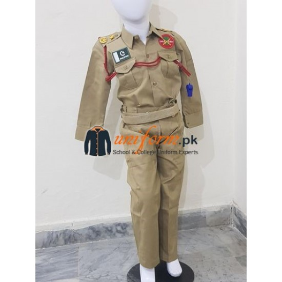Pakistan Army uniform For Child Costumes In Best Quality Army Costume For Kids