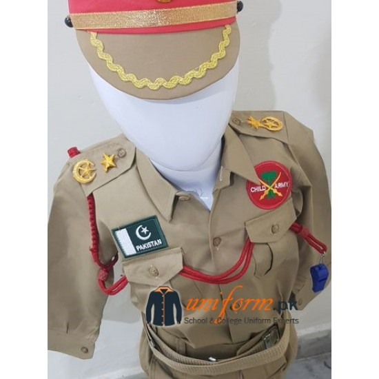 Pakistan Army uniform For Child Costumes In Best Quality