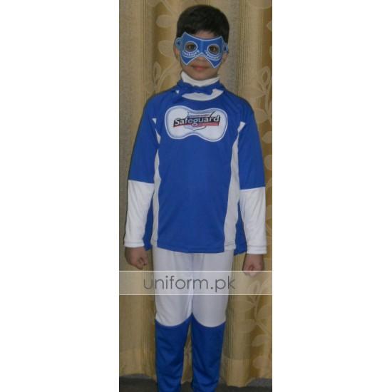 Commander Safeguard Boys Costume For School