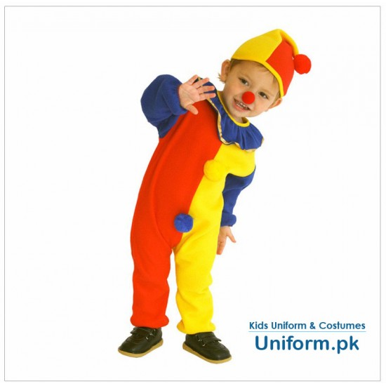 Circus Juggler Kids Fun Costume For School