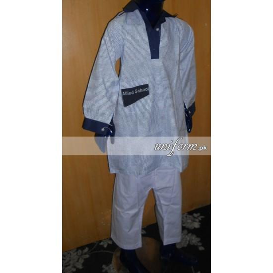 Allied School Girls Full Suit