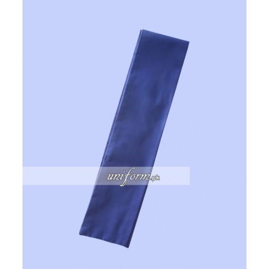 Girls blue Sash for School