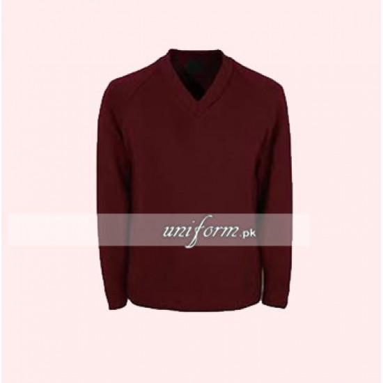 Boys Maroon Sweater for School