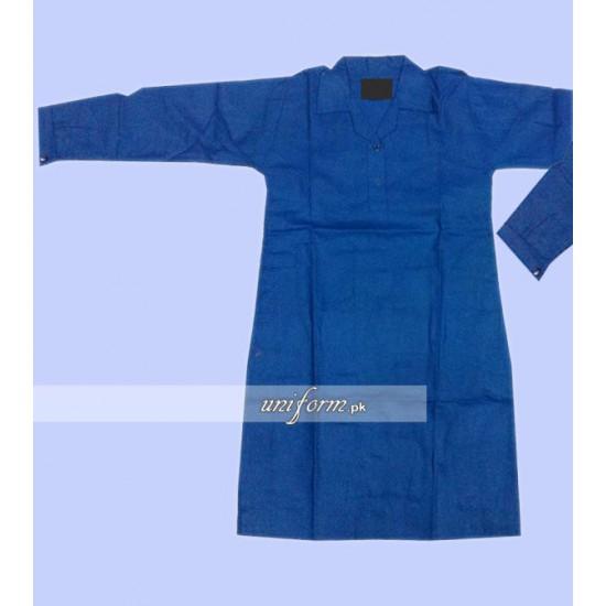 Girls blue Shirt Educators School