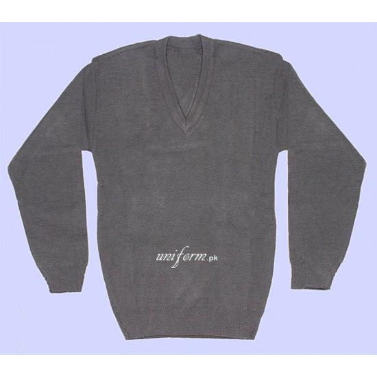 Boys Grey Pullover for School