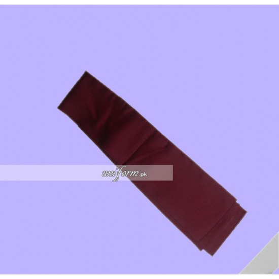 Girls Maroon Sash for School