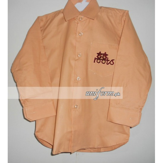 Roots School System Boys Full Sleeves Shirt