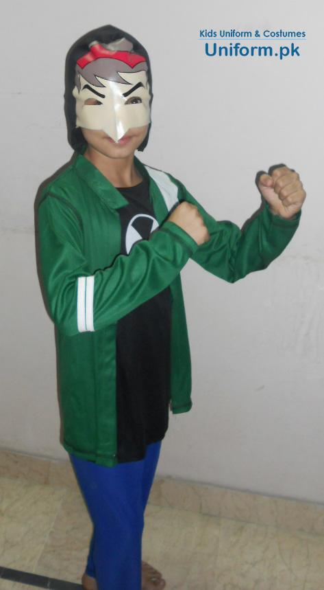 Ben10 Action Hero Boys Costume For School